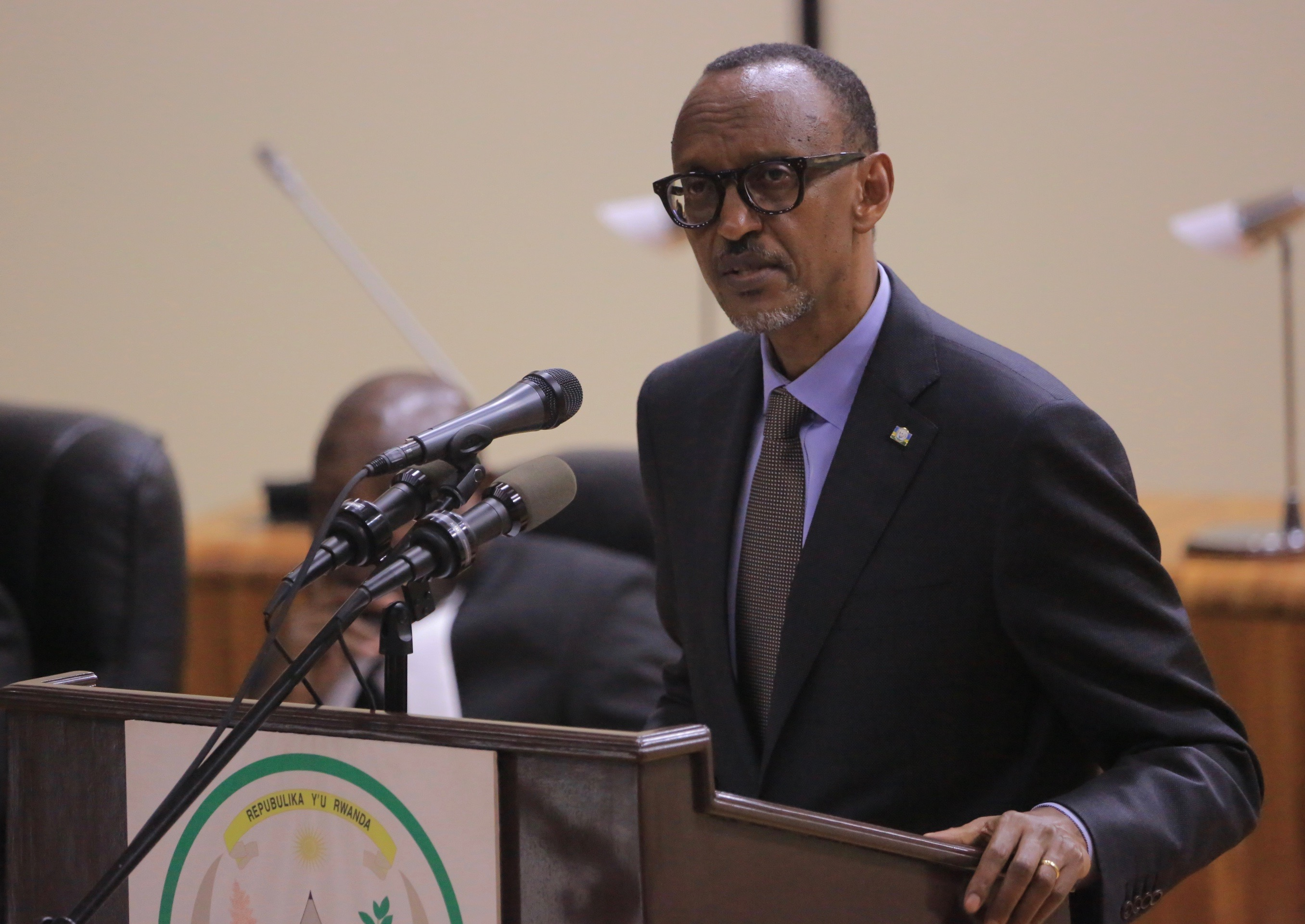 H.E. Paul Kagame, President of Rwanda addresses EALA at the commencement of the 5th Meeting of the 5th Session in Kigali today