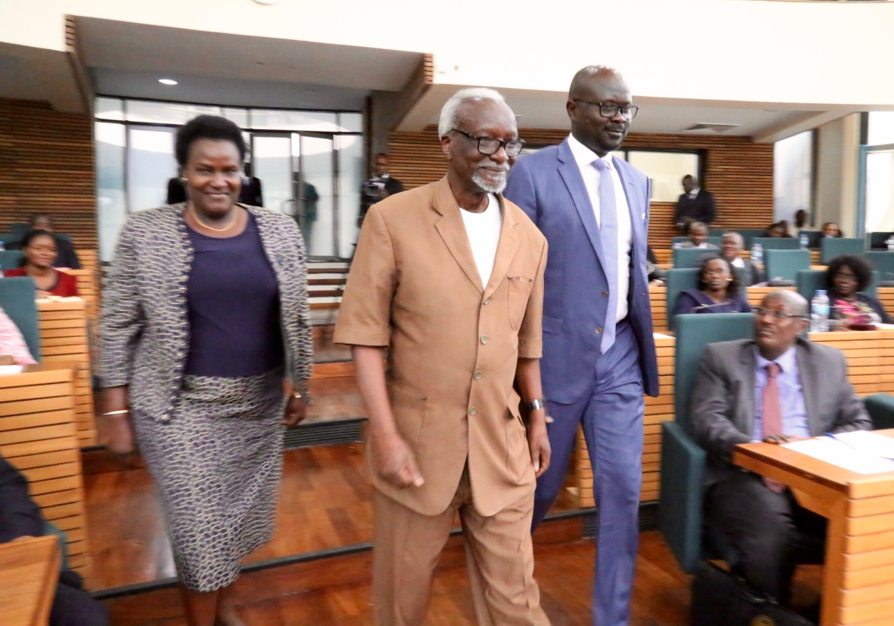 EALA swears in Uganda's Deputy Prime Minister and Kenya's CS