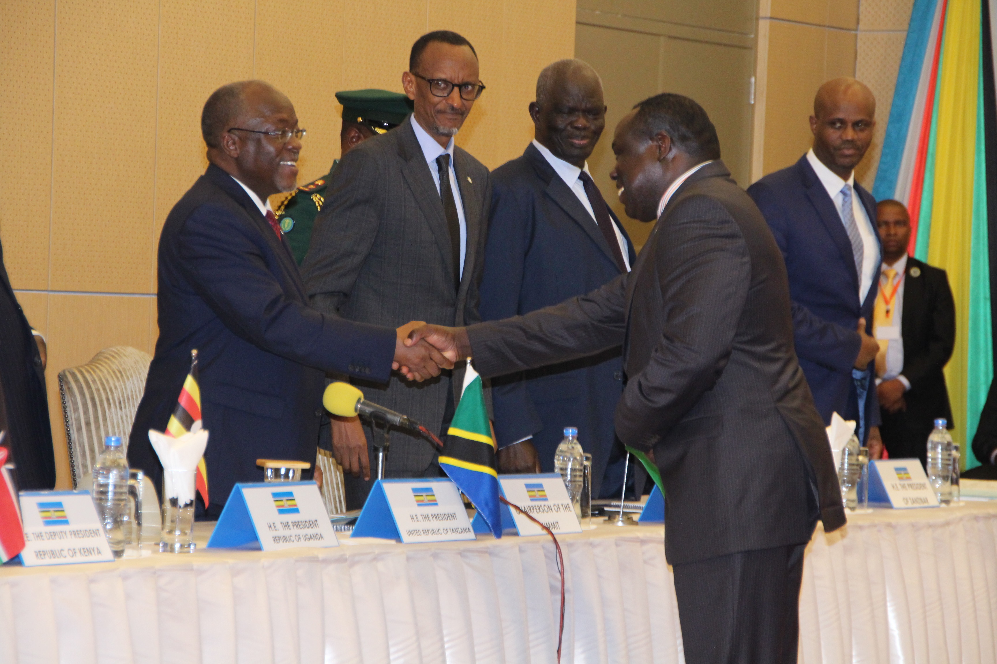 Hon Bazivamwo is sworn in as new DSG of EAC
