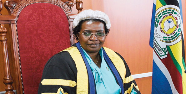 Rt. Hon. (Dr) Margaret Nantongo Zziwa, Speaker of EALA